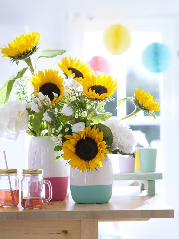 Combinaison fleurie : des enfants et des fleurs Lajoiedesfleurs.fr